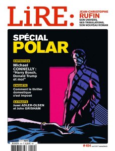 magazine Lire spécial polar avril 2017