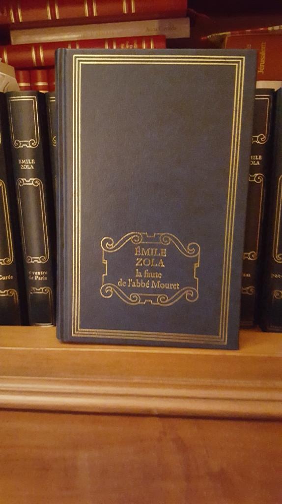 La faute de l'abbé Mouret Emile Zola