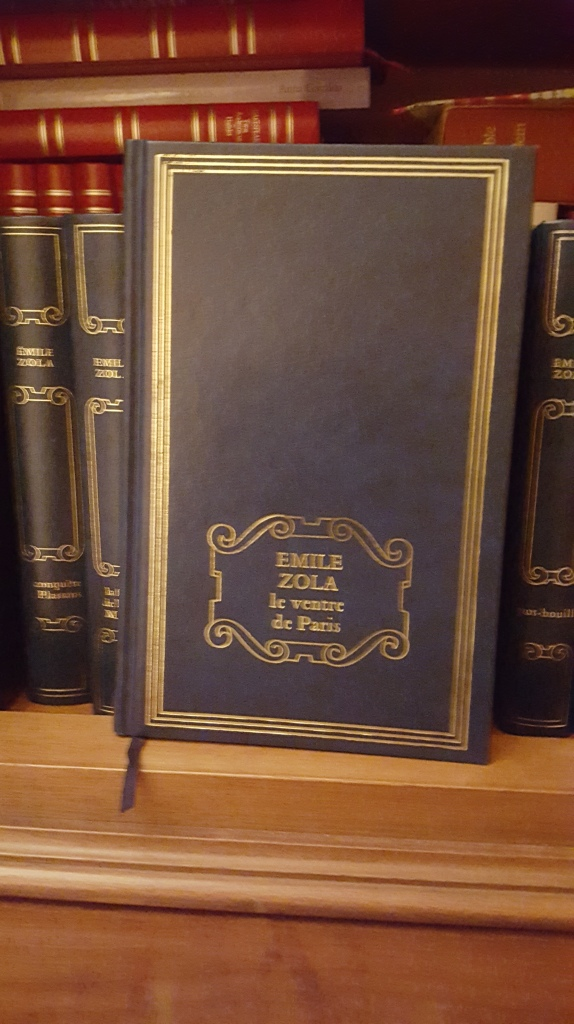 Le ventre de Paris Emile Zola