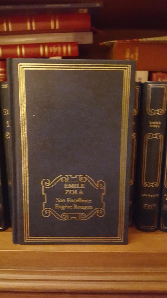 Son Excellence Eugène Rougon Emile Zola