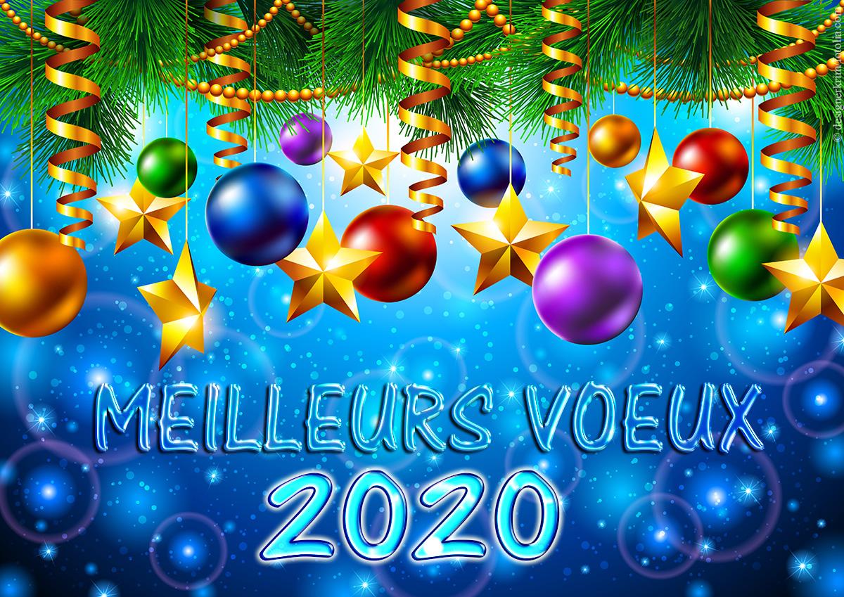 bonne annee 2020